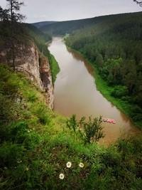 Река Ай одна из самых живописных рек Южного Урала