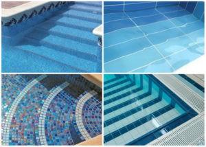 Как правильно укладывать мозаику в бассейне?