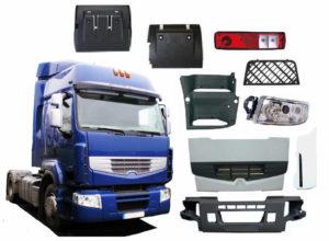 Виды запчастей для грузовых автомобилей MAN