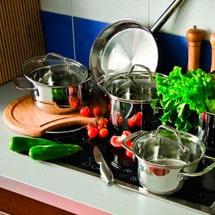 Правила выбора посуды для приготовления пищи