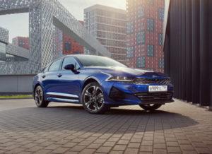KIA K5: открывает новую эпоху дизайна автомобилей KIA