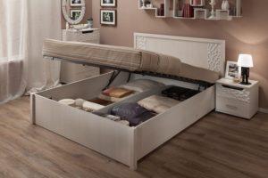 Самые функциональные и удобные кровати для спальной комнаты