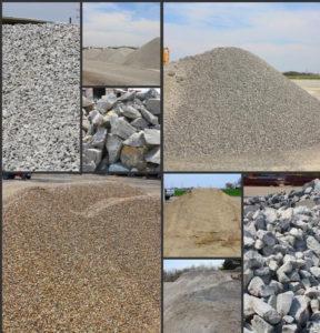 Сыпучие строительные материалы: разновидности