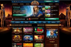 Популярные игровые слоты в казино Фараон