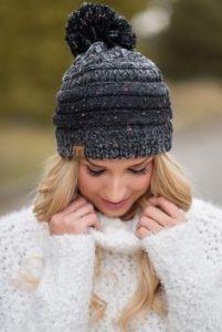 Вязаная шапка: отличный выбор на позднюю осень и зиму