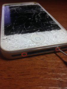 Как исправить треснувший экран iPhone?