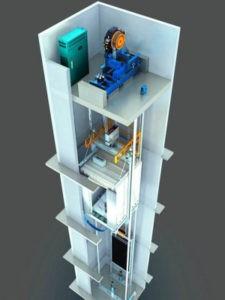 Устройство шахты лифта